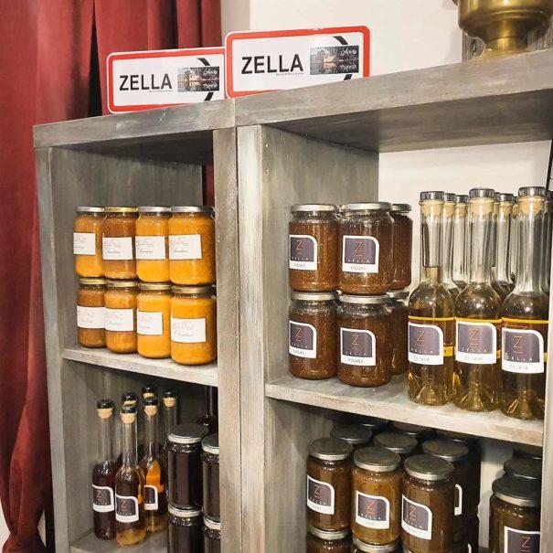la boutique de la maison d'hôtes Zella