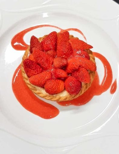 tartelette aux fraises de corse